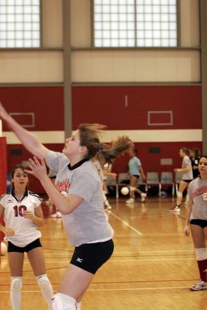 Girls Freshman Volleyball - 2006-2007 - 2/15/2007 Fruitport