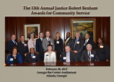 Justice Robert Benham Awards 2012