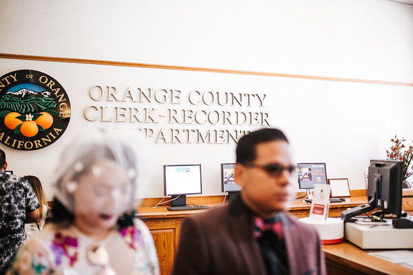 Binh & Mark Wedding Ceremony / Old Orange County Courthouse (Santa Ana, CA)