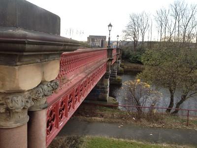 Dalmarnock Bridges and Power Station