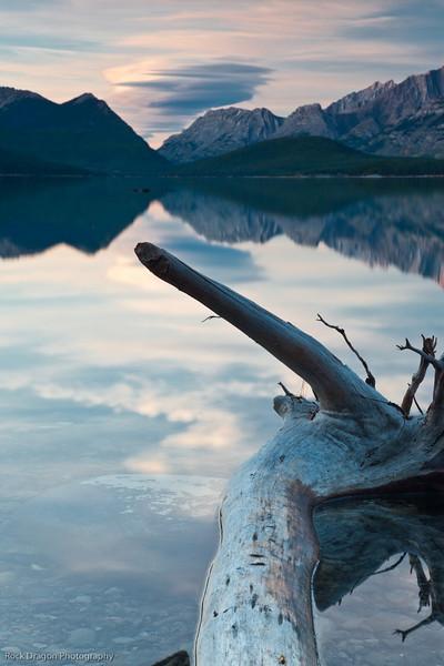 Opal Range and Lower Kananaskis Lake, Kananaskis Country, Alberta