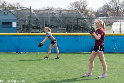 Softball JV Practice
