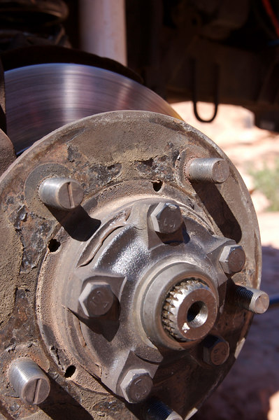 Dan blew out a CV joint in his LWB Classic.