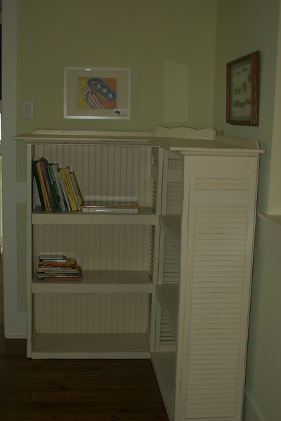 third floor book case
