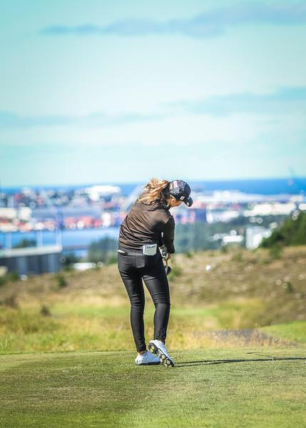 GR, Ragnhildur Kristinsdóttir Íslandsmót í golfi 2019 - Grafarholt 2. keppnisdagur Mynd: seth@golf.is