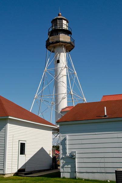 Whitefish Point Light, Lake Superior