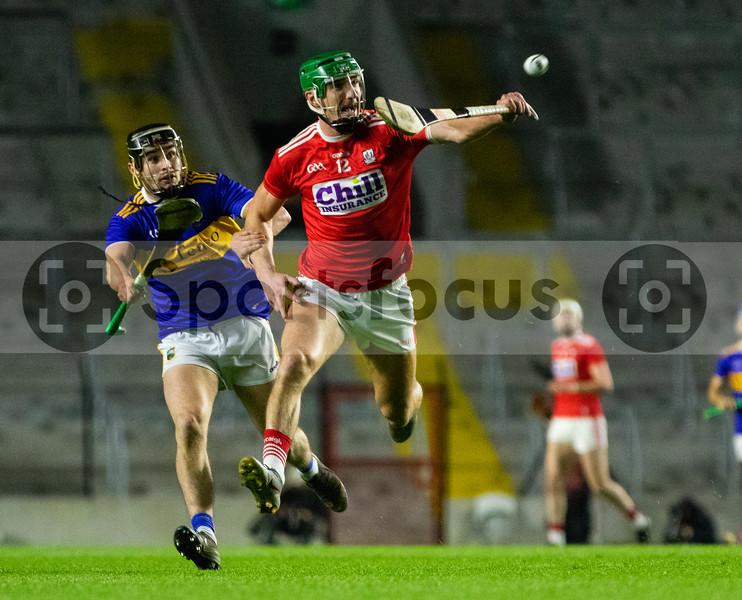 Cork's Aidan Walsh and Tipperary's Alan Flynn