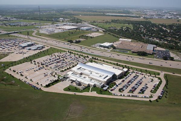 VA Hospital Aerials