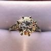2.63ct Old European Cut Diamond Solitaire, GIA K VS2 8
