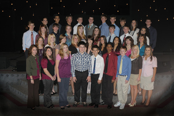 Meadowbrook Academy Honor Students Induction