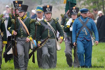 Battle of 'Hoogstraten 1814'