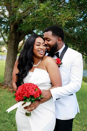 Kachine and Aaron's Intimate Wedding