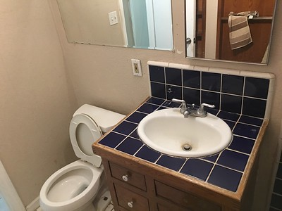 Bathroom remodel 11-13-16