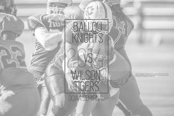 Ballou vs Wilson - DCIAA Semifinal