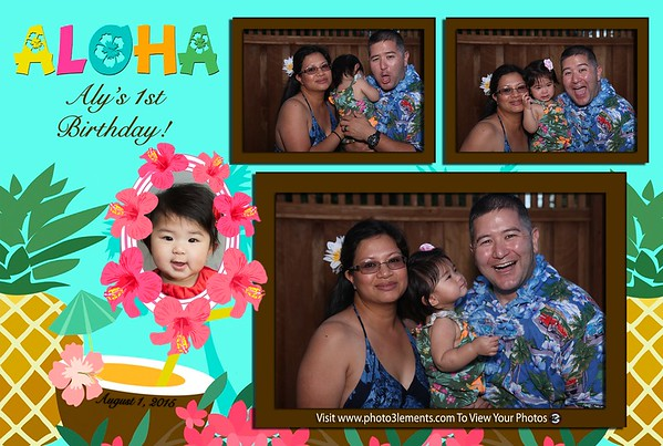 Aly's 1st Birthday Luau 2015