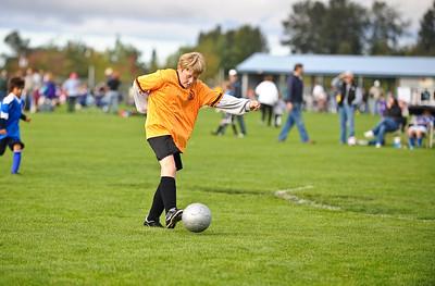 Fall Soccer BU10 Boys Blaine 2009