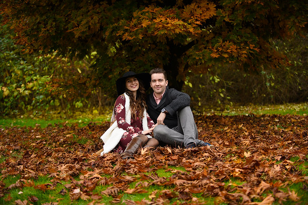 Iulia & Paul Fall Photoshoot
