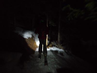 Quandary Ski, March 17, 2012