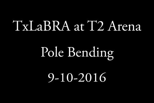 9-10-2016  Pole Bending