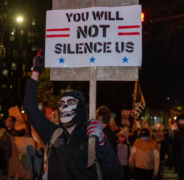 2020 11 04 Day after election protest TCC4J NAARPR mass arrests-20.jpg