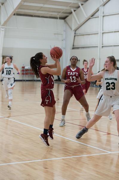 2/14/18: Girls' Varsity Basketball v Williston