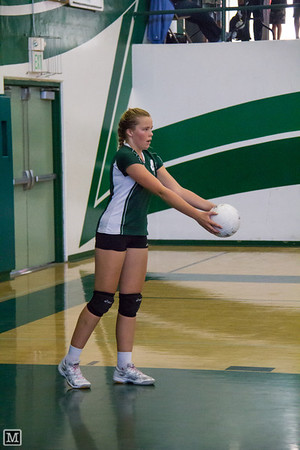 10-23-12  JV & Varsity Volleyball vs Calvary