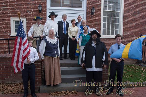 New Sweden Heritage Dedication Old Salem County Courthouse