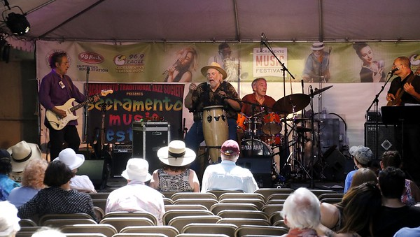 Mick Martin and the Blues Rockers at the Sacramento Music Festival 05 29 17