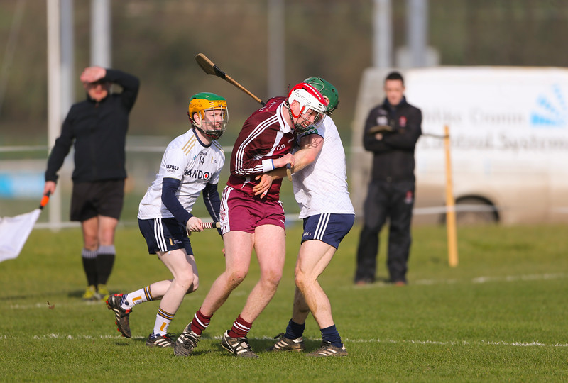 22/02/2019. Electric Ireland Fergal Maher Cup Semi Final Marino V Ulster UIniversity Coleraine. Picture: Patrick Browne