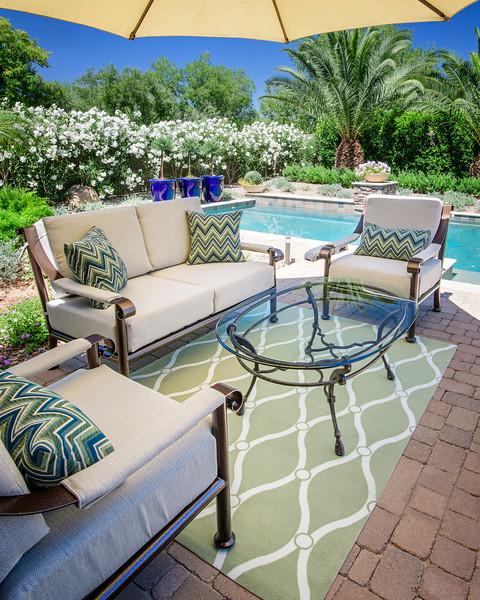 Stan & Patricia Carver Home Patio furniture  & home photos