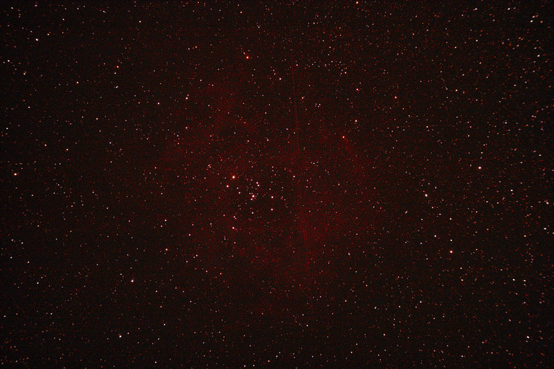 Caldwell 49 & 50 - NGC2237-9,NGC2244, NGC2246 - Rosette Nebula and Open Cluster - 12/1/2011 (Processed single image)