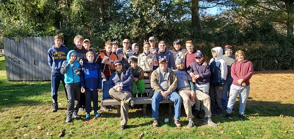 Marshall's Eagle Scout Project Nov 2019