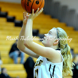 Lancaster Mennonite Girl's Varsity Basketball v. Donegal 12.15.14