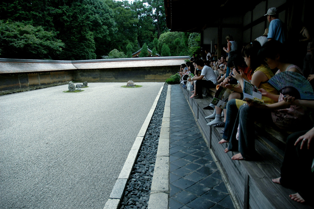 Ryoanji/龍安寺の石庭