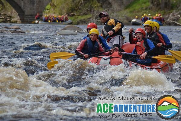 2nd May 2015 - AM - Gordonstoun School Rafting