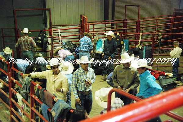 Friday Night First Go Behind the Chutes
