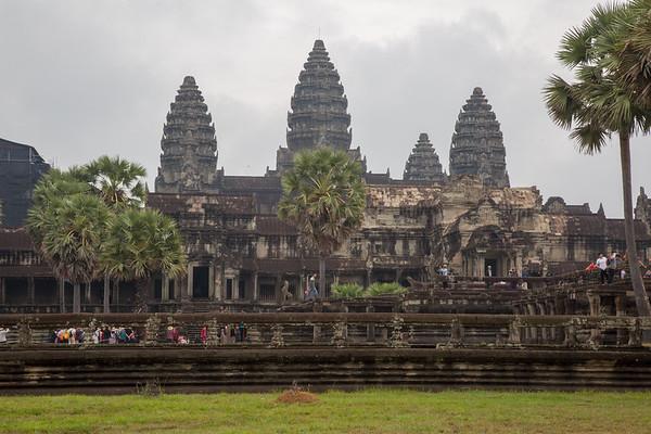 Angkor Wat Temple, Siem Reap, Cambodia - 2017