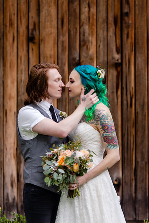 Alex & Derek | A Surprisingly Traditional, Laid-back Woodland Wedding Throwdown at Spruce Pine Lodge in Bahama, NC