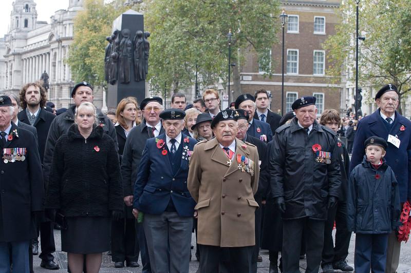 Remembrance Day, Sunday 8th Nevember 2009, London, United Kingdom