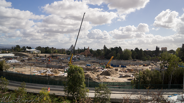 Disneyland Resort, Mickey And Friends Parking Structure, Mickey, Friends, Parking, Disneyland, Frontierland, Critter Country, Star Wars Land, Star Wars, Rivers Of America, River, Rivers, America, Construction