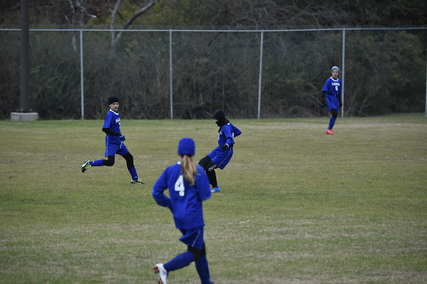 Middle School Soccer at The Highlands 12.8.16
