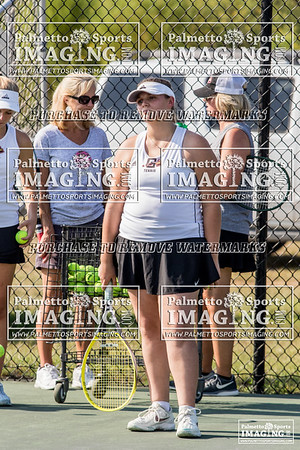 9-12-2019 Gilbert Ladies Tennis vs Batesburg-Leesville