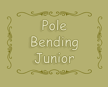Elkwater Rodeo 2018 Pole Bending Junior