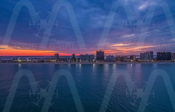 Ocean City Maryland Skyline