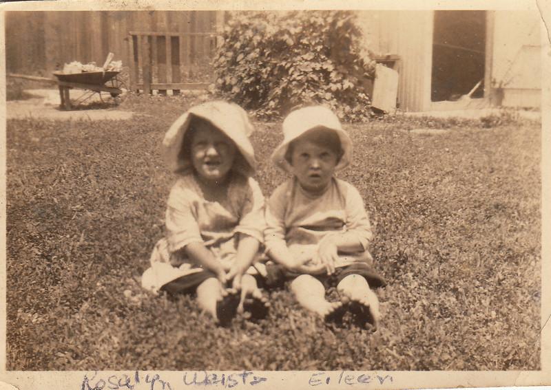 Rosalyn Weist & Wilma Eileen Clark - circa 1922.jpg