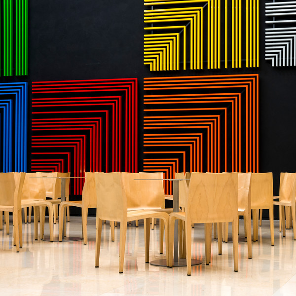 Interiors of a museum, Leeum, Samsung Museum Of Art, Seoul, South Korea