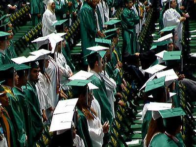 Carlos'  Graduation and Prom