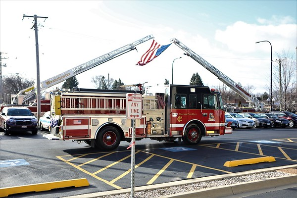 Chicago Fire Department Paramedic Robert Truevillian Ambo 71 Funeral