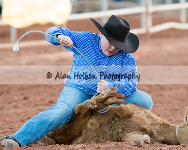2018 Junior High Rodeo (Friday) - Boys Tie Down