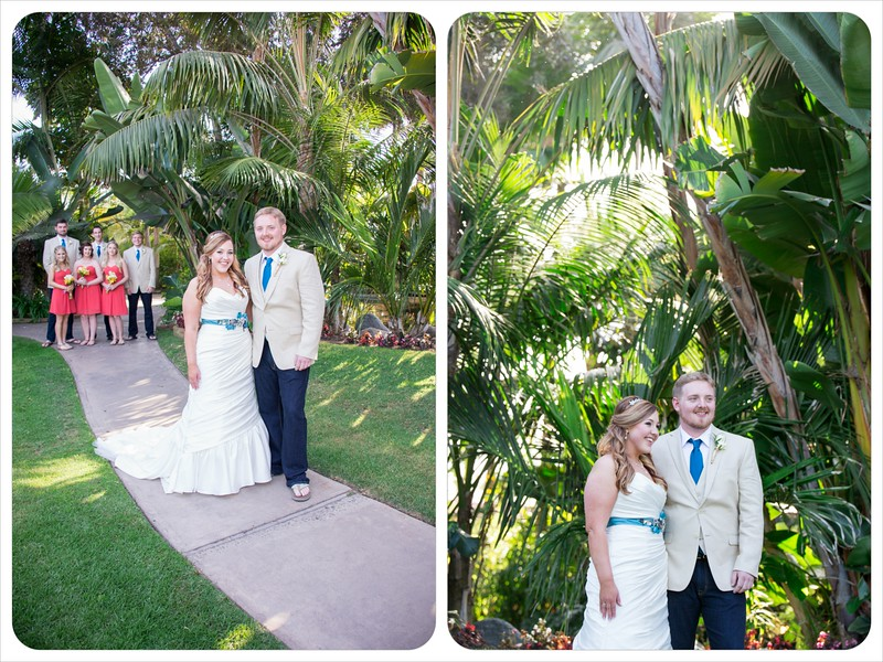 Bahia Resort San Diego - Beach Wedding Ceremony William D Evans Boat Reception-7320 garden bride groom.jpg